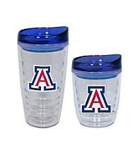 TNT Media Group Arizona Wildcats Slimline Tumbler with Color Lid