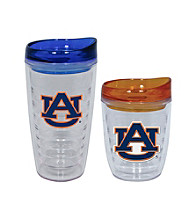 TNT Media Group Auburn Tigers Slimline Tumbler with Color Lid