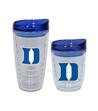 TNT Media Group Duke Blue Devils Slimline Tumbler with Color Lid