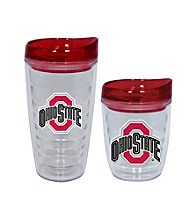 TNT Media Group Ohio State Buckeyes Slimline Tumbler with Color Lid