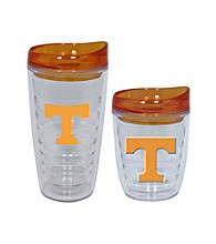 TNT Media Group Tennessee Volunteers Slimline Tumbler with Color Lid