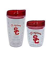 TNT Media Group USC Trojans Slimline Tumbler with Color Lid