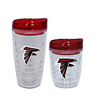 TNT Media Group Atlanta Falcons Slimline Tumbler with Color Lid