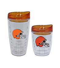 TNT Media Group Cleveland Browns Slimline Tumbler with Color Lid
