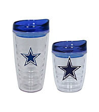 TNT Media Group Dallas Cowboys Slimline Tumbler with Color Lid