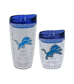 TNT Media Group Detroit Lions Slimline Tumbler with Color Lid
