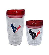 TNT Media Group Houston Texans Slimline Tumbler with Color Lid