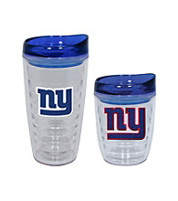 TNT Media Group New York Giants Slimline Tumbler with Color Lid