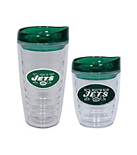 TNT Media Group New York Jets Slimline Tumbler with Color Lid