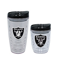 TNT Media Group Oakland Raiders Slimline Tumbler with Color Lid