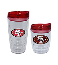 TNT Media Group San Francisco 49ers Slimline Tumbler with Color Lid