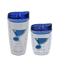 TNT Media Group St Louis Blues Slimline Tumbler with Color Lid