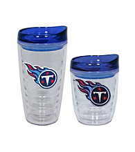 TNT Media Group Tennessee Titans Slimline Tumbler with Color Lid