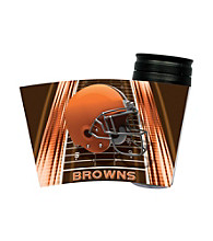TNT Media Group Cleveland Browns Insulated Travel Tumbler