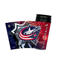 TNT Media Group Columbus Blue Jackets Insulated Travel Tumbler