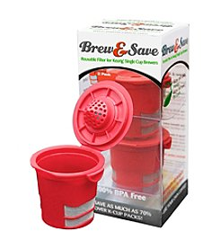 Ekobrew Brew & Save 2-pk. Reusable Filter for Single Cup Brewers