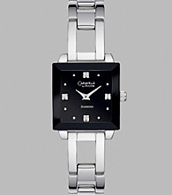 Bulova® Caravelle Women's Silver Bracelet and Square Dial Watch