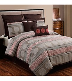 Pauline Spice 8-pc. Comforter Set by Home Fashions International
