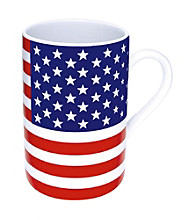 Waechtersbach Konitz Stars and Stripes Set of 4 Flag Mugs