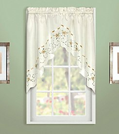 United Curtain Co. Rachael Swag Valance