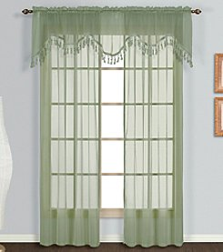 United Curtain Co. Monte Carlo Scalloped Valance