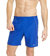 Nike® Men's Hyper Blue Core Velocity Swim Shorts