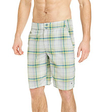 Columbia Men's Light Metal Laser Plaid Waterton Shorts