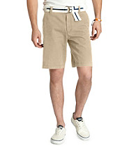 Izod® Men's Cedarwood Saltwater Flat Front Short