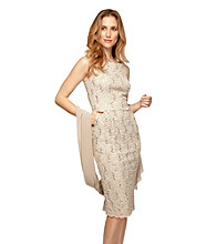 Alex Evenings® Sequin Lace Dress