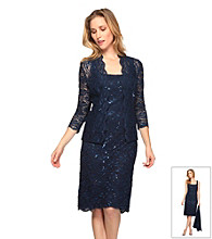Alex Evenings® Lace Dress with Jacket