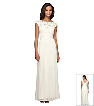 Alex Evenings® Long Fitted Bodice Dress