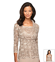 Alex Evenings® Lace Twinset With Sequins