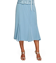 Alex Evenings® Tea-Length Chiffon Skirt