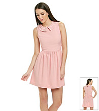 Kensie® Peter Pan Collar Full Skirt Dress