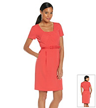 Tahari by Arthur S. Levine® Full Skirt Crepe Dress