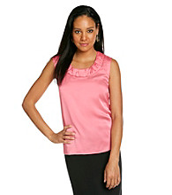 Kasper® Ruched Neck Cami