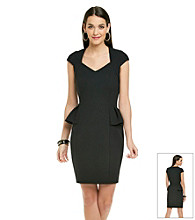 Betsey Johnson® Peplum Sheath Dress