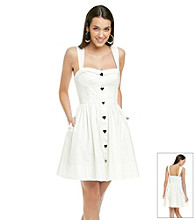 Betsey Johnson® Strapped Corset Dress