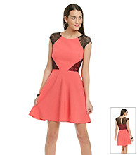 Betsey Johnson® Full Skirt Cutout Dress