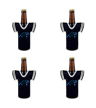 TNT Media Group 4-Pack Carolina Panthers Bottle Jersey