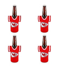 TNT Media Group 4-Pack Kansas City Chiefs Bottle Jersey
