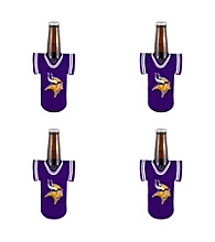 TNT Media Group 4-Pack Minnesota Vikings Bottle Jersey