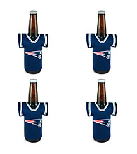 TNT Media Group 4-Pack New England Patriots Bottle Jersey