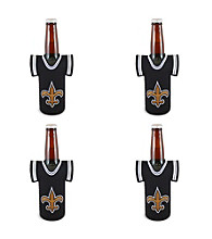 TNT Media Group 4-Pack New Orleans Saints Bottle Jersey