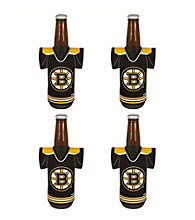 TNT Media Group 4-Pack Boston Bruins Bottle Jersey