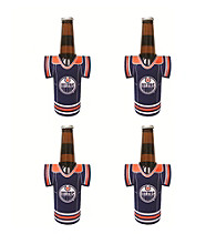 TNT Media Group 4-Pack Edmonton Oilers Bottle Jersey