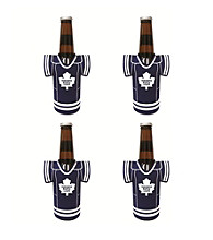 TNT Media Group 4-Pack Toronto Maple Leafs Bottle Jersey