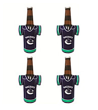 TNT Media Group 4-Pack Vancouver Canucks Bottle Jersey