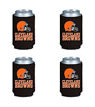 TNT Media Group 4-Pack Cleveland Browns Kan Kaddy