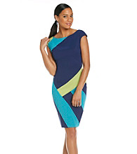 Sangria™ Colorblock Sheath Dress